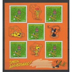 France - Blocks and sheets - 2003 - Nb BF 58 - Cartoons - Comics