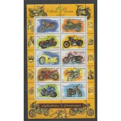 France - Blocs et feuillets - 2002 - No BF 51 - Motos