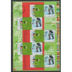 France - Blocks and sheets - 2002 - Nb BF 49 - Soccer World Cup