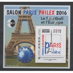 France - CNEP Sheets - 2016 - Nb CNEP 72 - Football