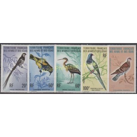 Afars et Issas - 1975 - No 410/413 - PA 105 - oiseaux