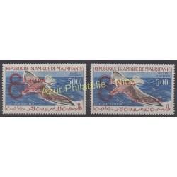Mauritanie - 1962 - No PA20E/ PA20F - Oiseaux