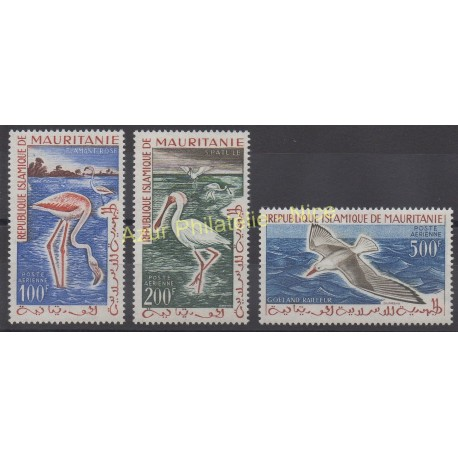 Mauritanie - 1961 - No PA 18/ PA 20 - Oiseaux