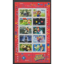 France - Blocks and sheets - 2005 - Nb BF 91 - Childhood