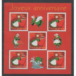 France - Blocks and sheets - 2005 - Nb BF 83 - Cartoons - Comics