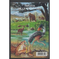 France - Blocks and sheets - 2008 - Nb BF 119 - Animals
