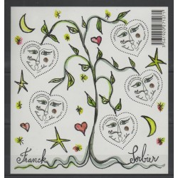 France - Blocks and sheets - 2008 - Nb BF 115 - Fashion