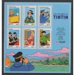 France - Blocks and sheets - 2007 - Nb BF 109 - Cartoons - Comics