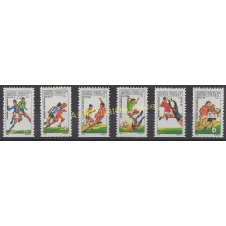 Hongrie - 1986 - No 3031/3036 - Coupe du monde de football