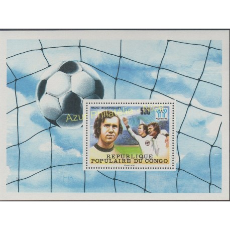 Congo (Republic of) - 1978 - Nb BF 15 - Soccer world cup