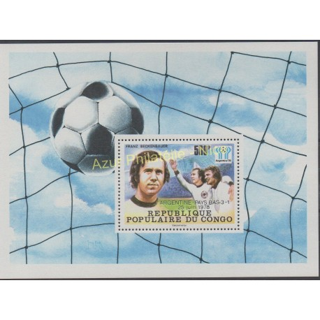 Congo (Republic of) - 1978 - Nb BF 18 - Soccer world cup