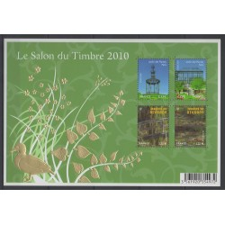 France - Blocs et feuillets - 2010 - No BF 130 - Flore