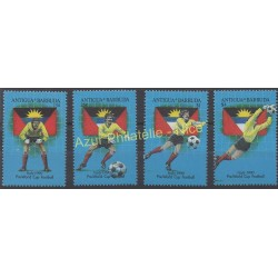 Antigua and Barbuda - 1989 - Nb 1166/1169 - Soccer world cup