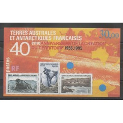 TAAF - Blocs et feuillets - 1995 - No BF 2 - Polaire