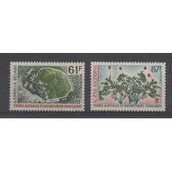 TAAF - 1974 - No 52/53 - Flore