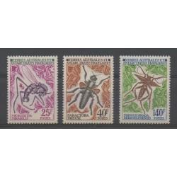 TAAF - 1972 - No 40/42 - Insectes