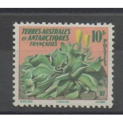 TAAF - 1958 - No 11 - Fleurs - neuf avec charnière