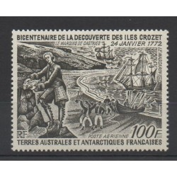French Southern and Antarctic Lands - Airmail - 1972 - Nb PA 27 - Various Historics Themes