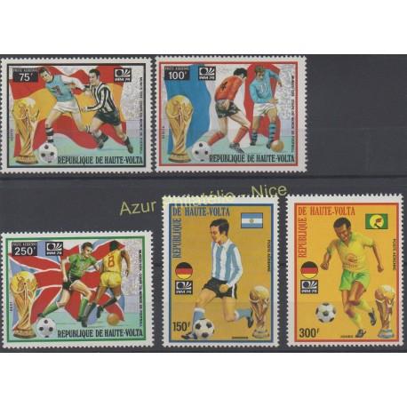 Haute-Volta - 1974 - No PA 169 /PA 173 - Coupe du monde de football