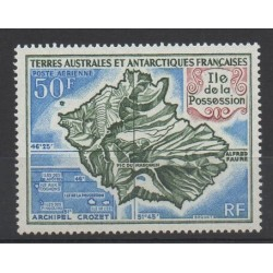 French Southern and Antarctic Lands - Airmail - 1971 - Nb PA 23 - Polar