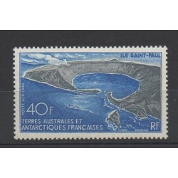 French Southern and Antarctic Lands - Airmail - 1969 - Nb PA 17 - Polar