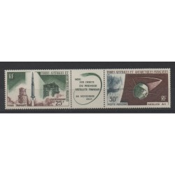 French Southern and Antarctic Lands - Airmail - 1966 - Nb PA 11A - Space