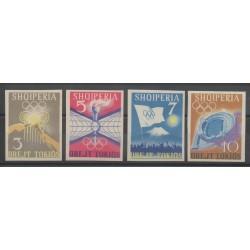 Albanie - 1964 - No 685/688 ND - Jeux Olympiques d'été