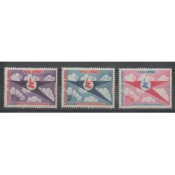 Cambodge - 1964 - No 150/152 - Avions