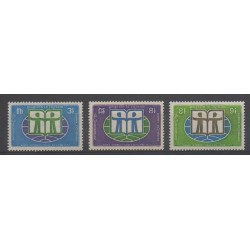 Cambodia - Khmer Republic - 1972 - Nb 287/289