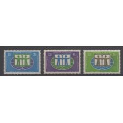 Cambodge - République Khmère - 1972 - No 287/289