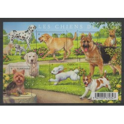 France - Blocks and sheets - 2011 - Nb F 4545 - Dogs