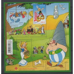 France - Blocks and sheets - 2009 - Nb F 4425 - Cartoons - Comics