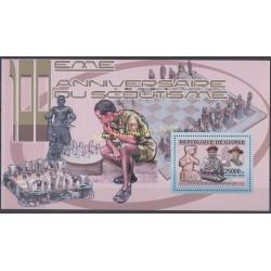 Guinée - 2006 - No BF 372 - Echecs - Scouts