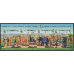Azerbaijan - 2002 - Nb 448/451 - Chess