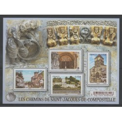 France - Blocks and sheets - 2015 - Nb F 4949 - Religion