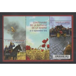 France - Blocks and sheets - 2014 - Nb F 4899 - Various Historics Themes
