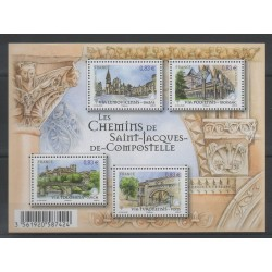 France - Blocks and sheets - 2014 - Nb F 4838 - Religion