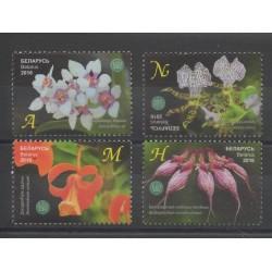 Biélorussie - 2016 - No 930/933 - Orchidées