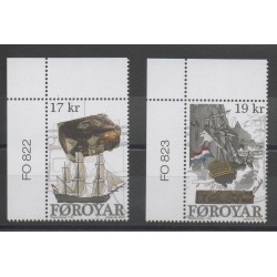 Faroe (Islands) - 2016 - Nb 842/843 - Boats
