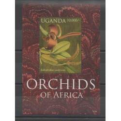 Ouganda - 2012 - No BF 373D - Orchidées