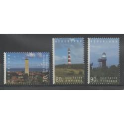 Pays-Bas - 1994 - No 1486/1488 - Phares