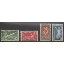 France - Poste - 1924 - Nb 183/186 - Summer Olympics