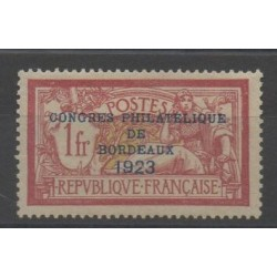 France - Poste - 1923 - Nb 182 - mint hinged