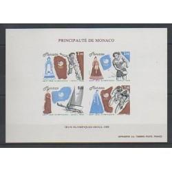 Monaco - Blocs et feuillets - 1988 - No BF 42a