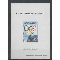 Monaco - Blocs et feuillets - 1994 - No BS 24a