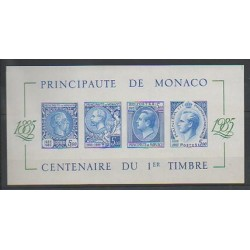Monaco - Blocks and sheets - 1985 - Nb BF 33a