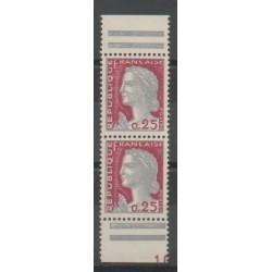 France - Varieties - 1960 - Nb 1263d
