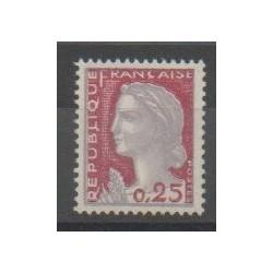 France - Varieties - 1960 - Nb 1263a
