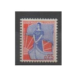 France - Varieties - 1960 - Nb 1234b