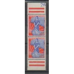 France - Varieties - 1960 - Nb 1234a